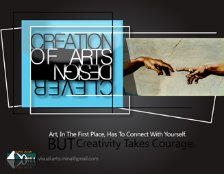 creation of arts poster